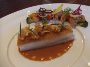 ハナビラタケ入りにゅう麺